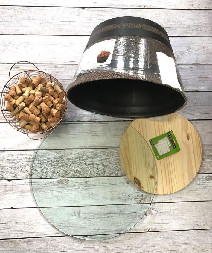planter patio table