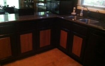 Can My Builder S Grade Cabinets Be Stained Darker Hometalk