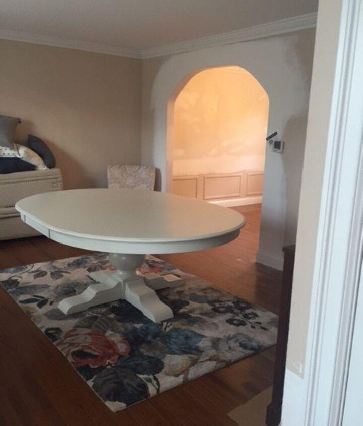 transitional interior design project