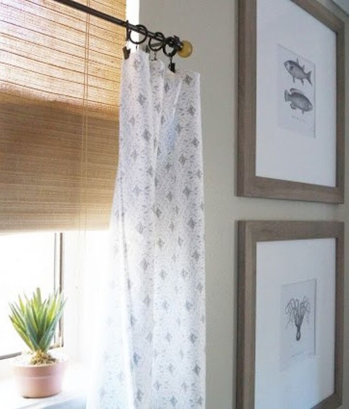 cafe curtains from pillowcases