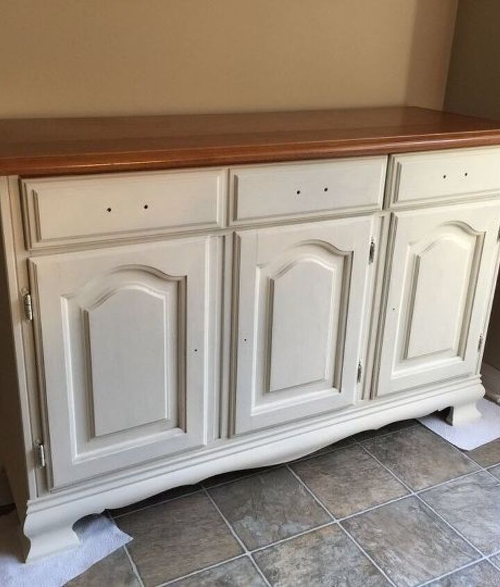 transforming an old china cabinet