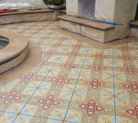Easy Diy Fix Concrete Floor Stencils