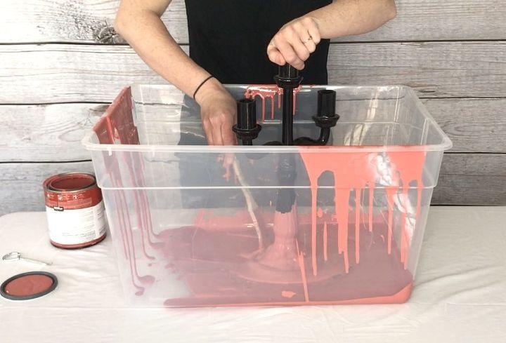 dip dye decor