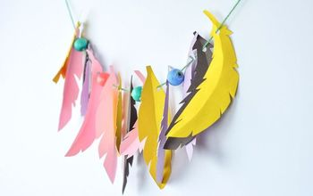 diy feather craft