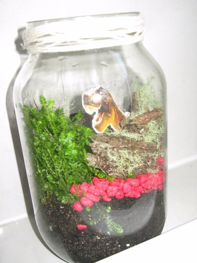 Terrarium From Old Glass Jars And Vases Hometalk