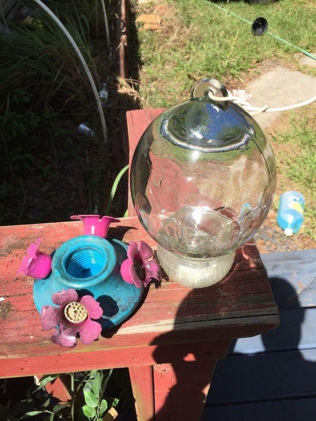 q how can i fix my hummingbird feeder