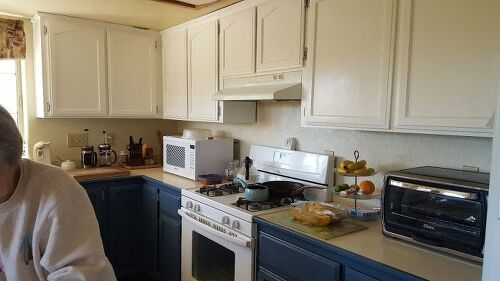 How can I get a crackle look on my newly painted kitchen cabinets ...