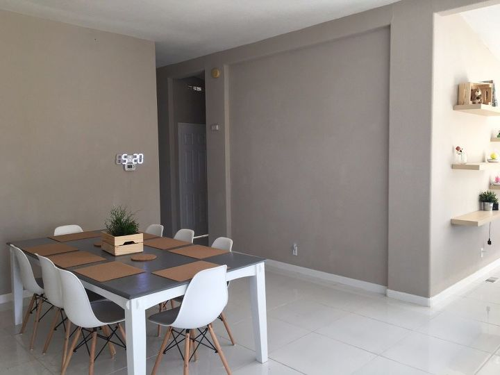 updating our dining room on a 350 budget