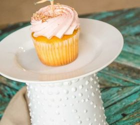 diy cake plates using upcycled containers : diy cake plates - pezcame.com