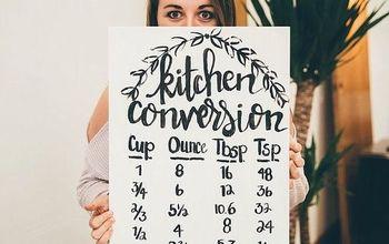 DIY Kitchen Conversion Chart