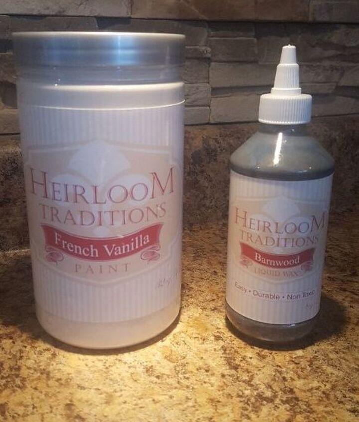 heirloom traditions chalk paint bathroom vanity makeover