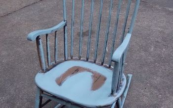 a mothers day rocking chair makeover, First Layer