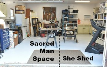 Shed Reveal - She Shed or Man Space?