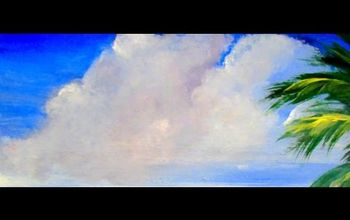 How to Paint Beautiful FlUFFY CLOUDS With Acrylic Paint 6 Different Wa