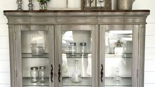 Any Ideas For Use Of Top Half Glass Door China Cabinet Hometalk