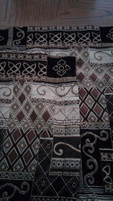 q i want to make a carpetbag i got some valances free need pattern