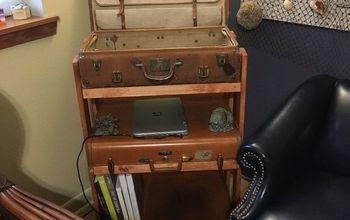 Repurposed Suitcases