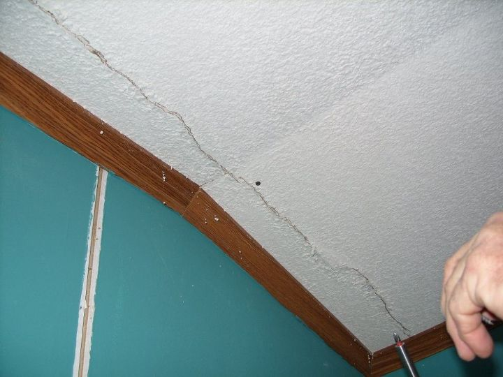 Repairing a Mobile Home Ceiling After Having It Moved | Hometalk on mobile home log, mobile home floor, mobile home chandelier, mobile home room, mobile home tn, mobile home wiring, mobile home stone, mobile home remodeling ideas, mobile home update ideas, mobile home paneling, mobile home insulation, mobile home garden, mobile home lot, mobile home hvac, mobile home basement, mobile home in nc, mobile home panel, mobile home walls, mobile home office, mobile home drywall,