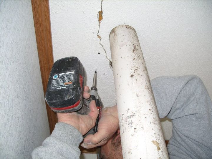 repairing a mobile home ceiling after having it moved