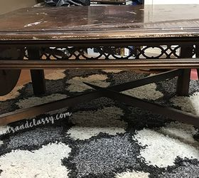Old Coffee Table Furniture Flip Makeover Tutorial Diyprojects