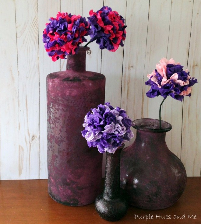 Twisted Paper Napkin Flowers Hometalk