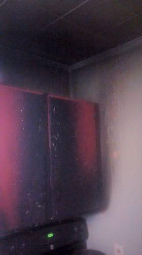 q burned kitchen cabinets