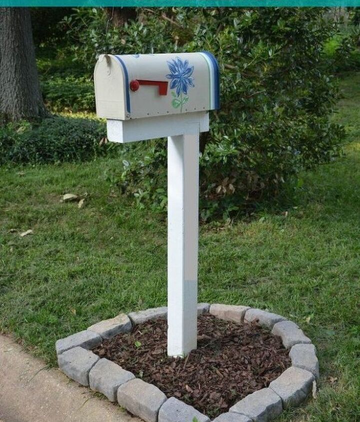 how to build paint and install a custom diy mailbox