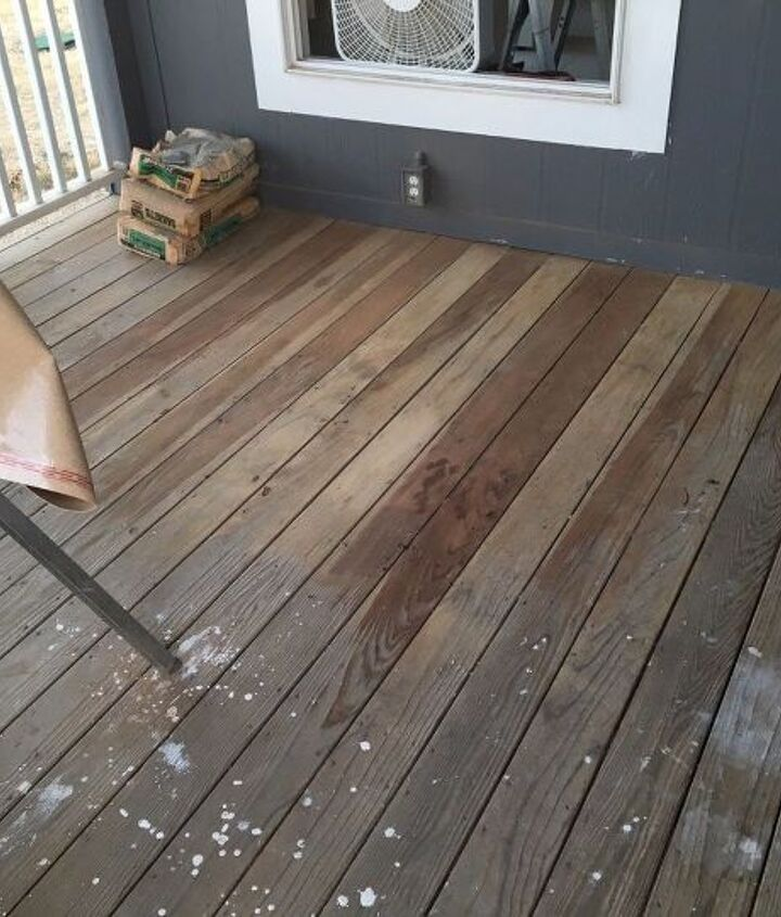 updating our patio