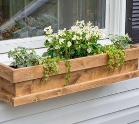 diy cedar window boxes & DIY Cedar Window Boxes | Hometalk
