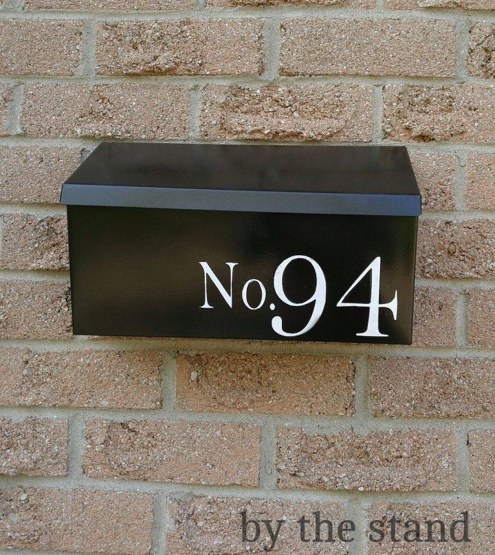 from brassy to classy mailbox makeover