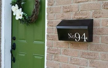 From Brassy To Classy - Mailbox Makeover