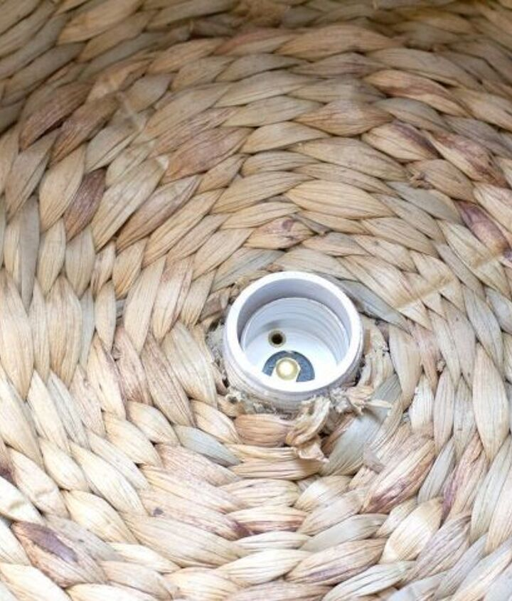 diy basket light