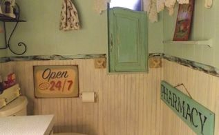 a happy bathroom makeover for under 10