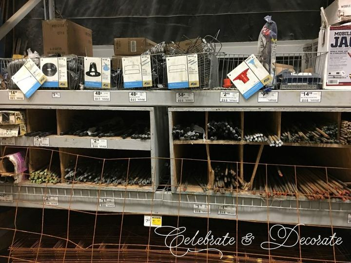 how i found myself in the rebar aisle of the home improvement store