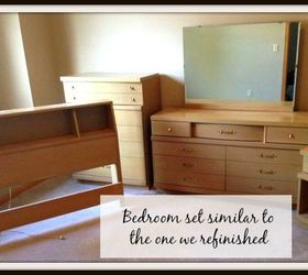 Re Imagining An Aunt S Old Mid Century Modern Bedroom Set For A Teen