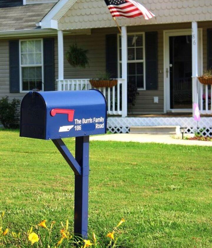 mailbox makeover under 20