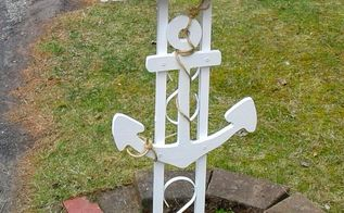 diy nautical beach inspired mailbox makeover