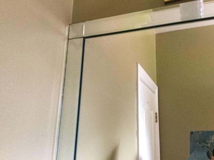 q mirror in bathroom