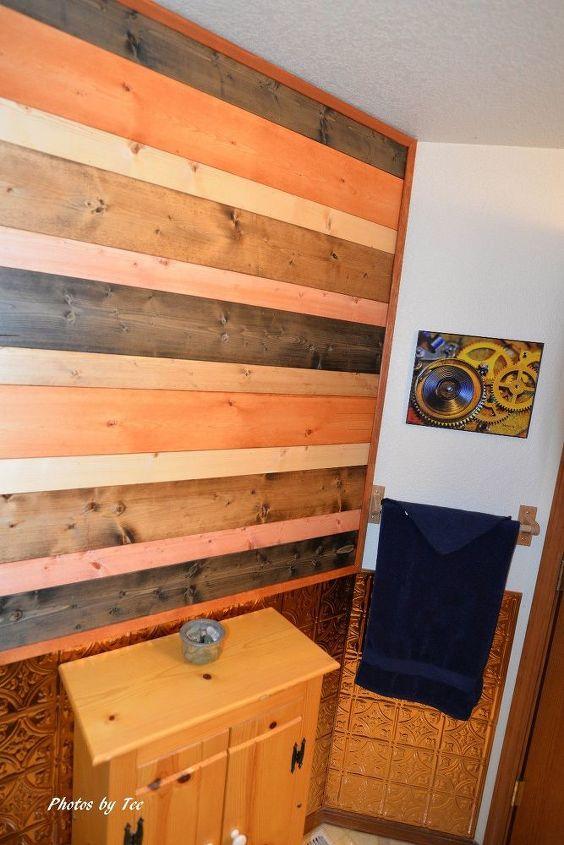 uplift to a bathroom wall