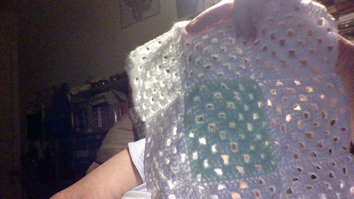 q crochet nine patch