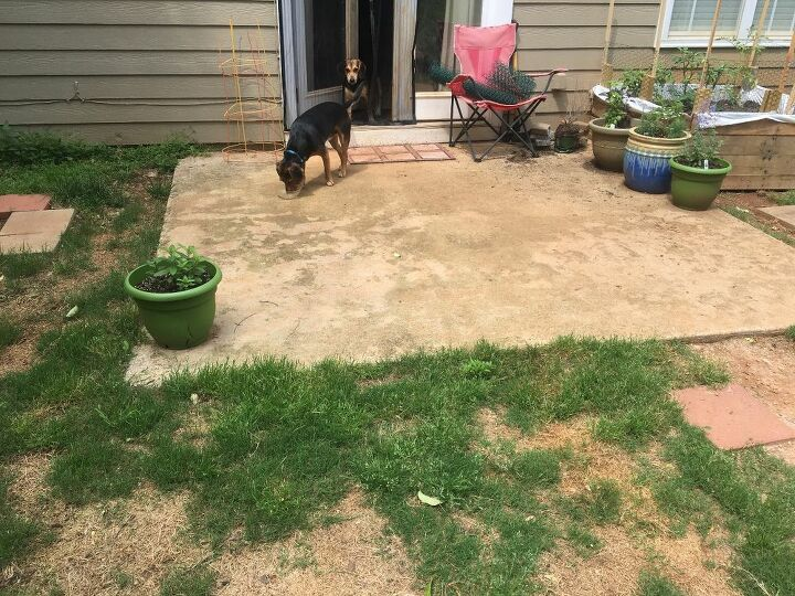 q best way to expand a patio