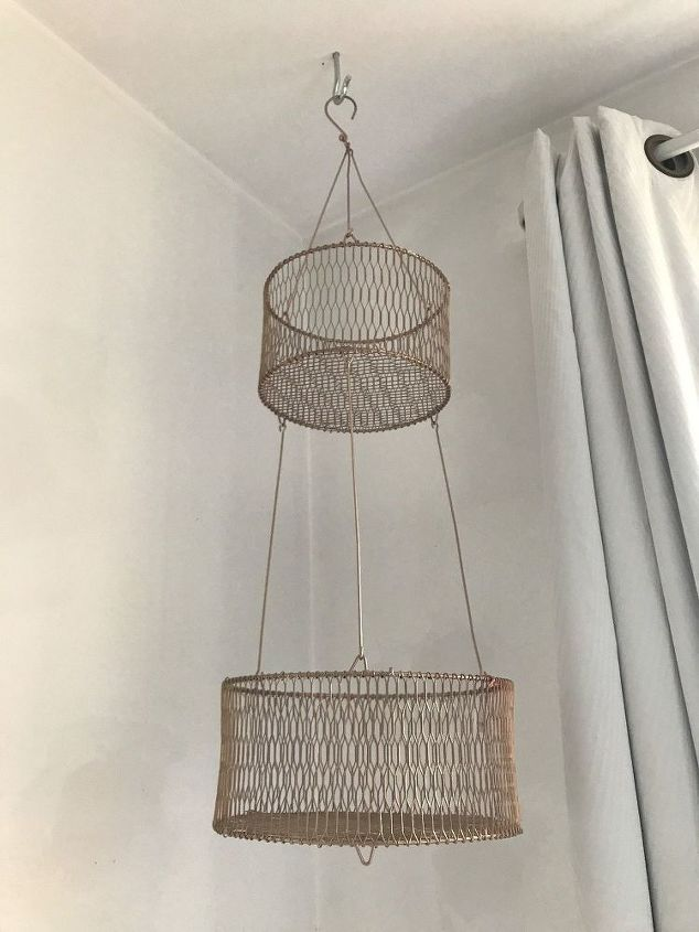 fruit vegetable basket to hanging planter