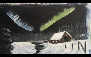 How to Paint the Northern Lights Quick and Easy
