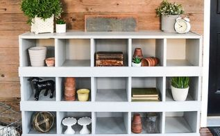 turn your old bookshelf into nesting boxes easily