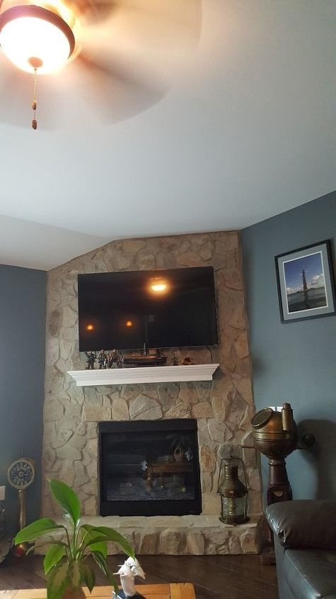 q should i replace this mantle with something bolder