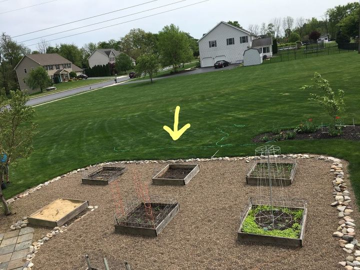 easy way to add a garden bed