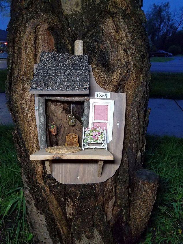 hollow tree to fairy tree