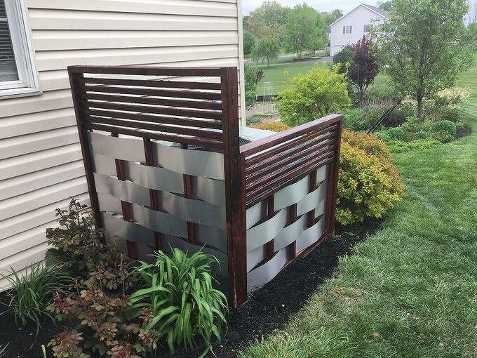 not a lattice privacy screen