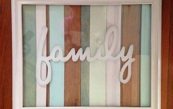 Pallet Wall Art - Family