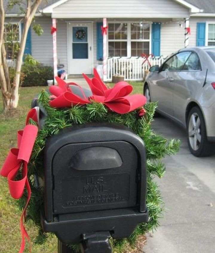 q any thoughts on how to make my mailbox look pretty